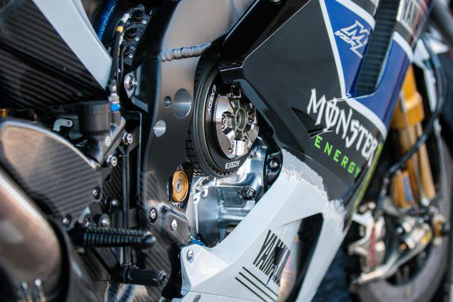 Yamaha-YZR-M1-MotoGP-rear-brake lever