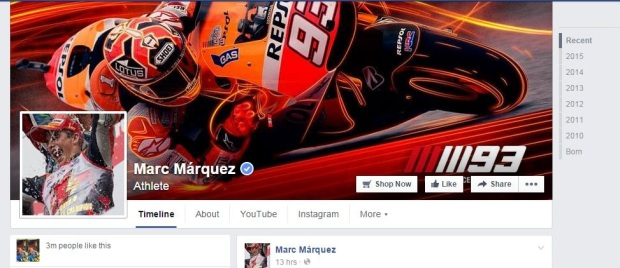 facebook Marquez