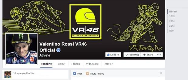 facebook Rossi