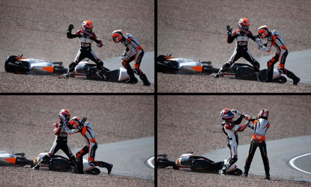 Kalex moto3 fight