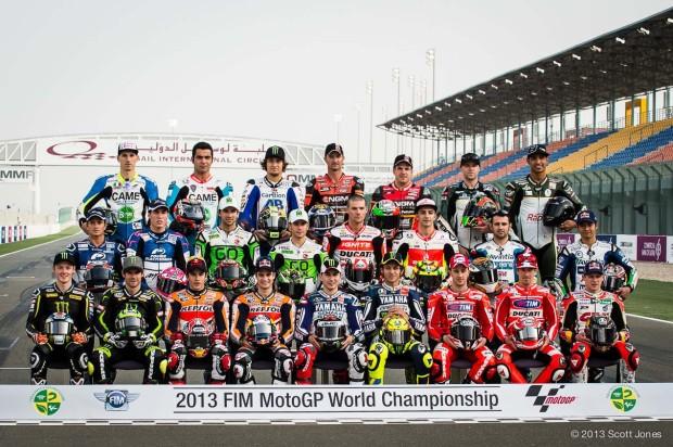 motogp riders 2013