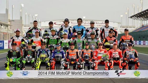 motogp riders 2014