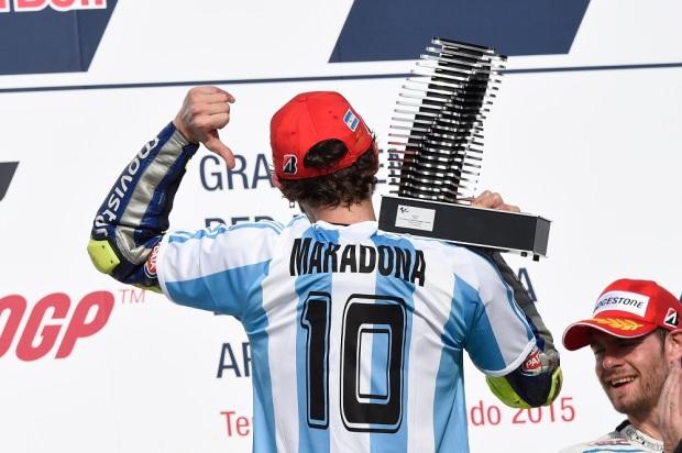 Valentino Rossi Maradona