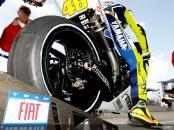 Valentino Rossi yamaha tire