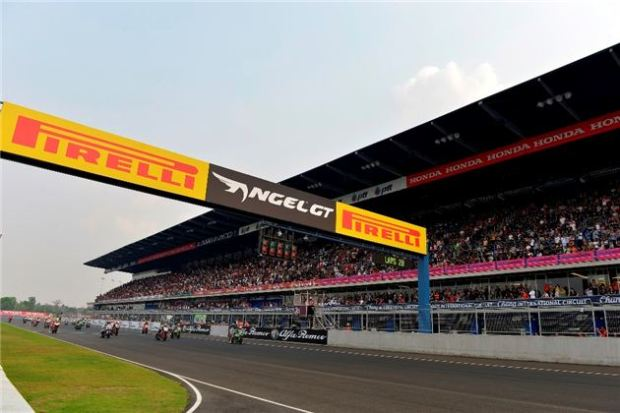 World Superbike Race Two in Thailand( courtesy of Pirelli )