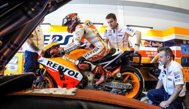 Marc Marquez le Mans