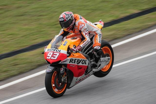 Marquez braking