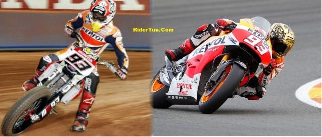 Marquez dirt bike RC213V