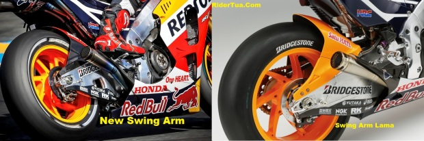 New Swing Arm RC213V