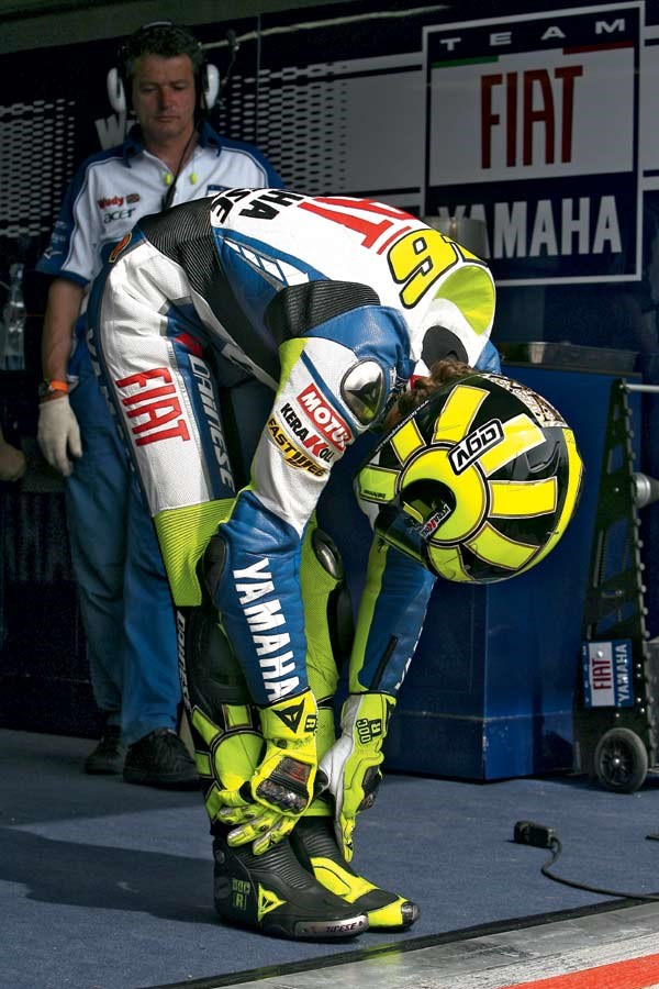 Valentino rossi-stretch