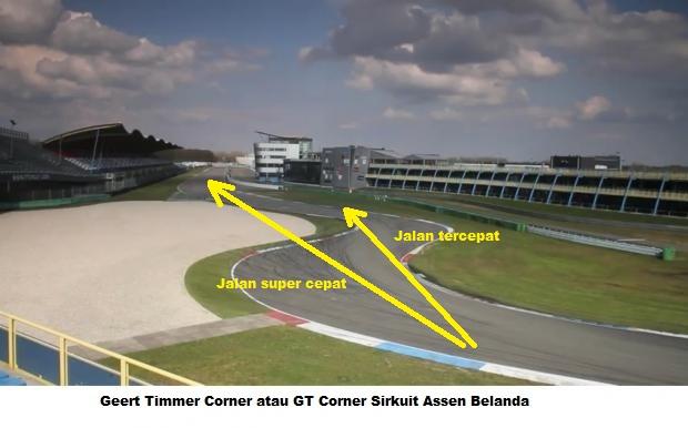 geert timmer Corner Assen Valentino Rossi