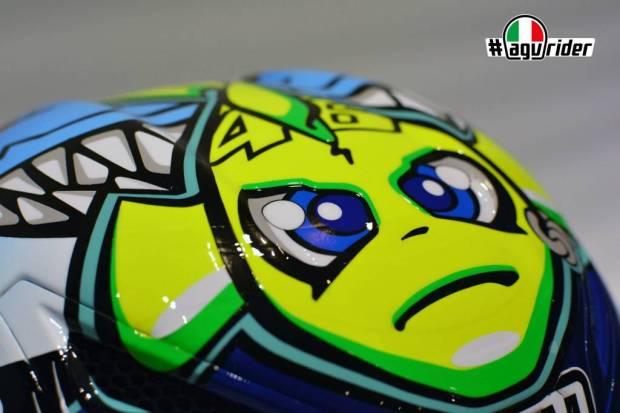agv-pista-gp-misano-2015 Valentino helmet