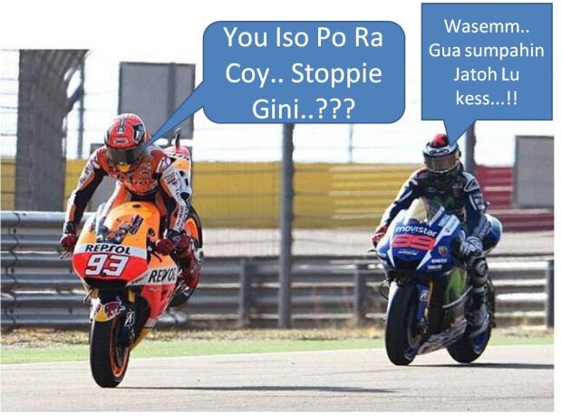 Marquez Stoppie