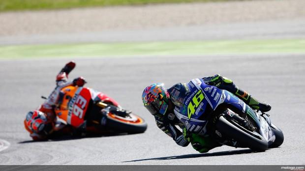 Rossi Vs Marquez 1
