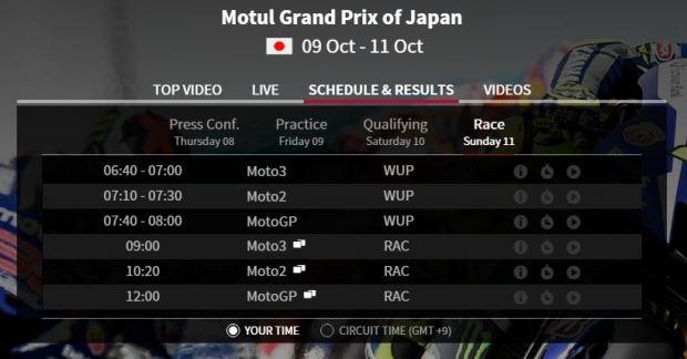 jadwal race motegi 2015