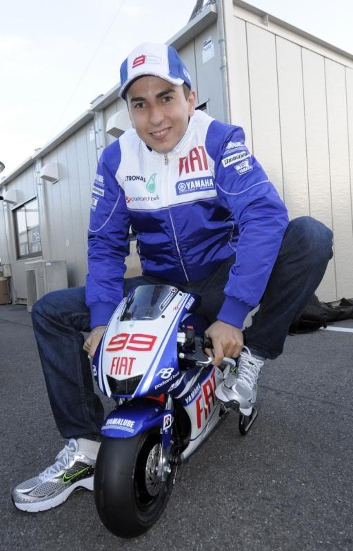 Jorge Lorenzo minibike