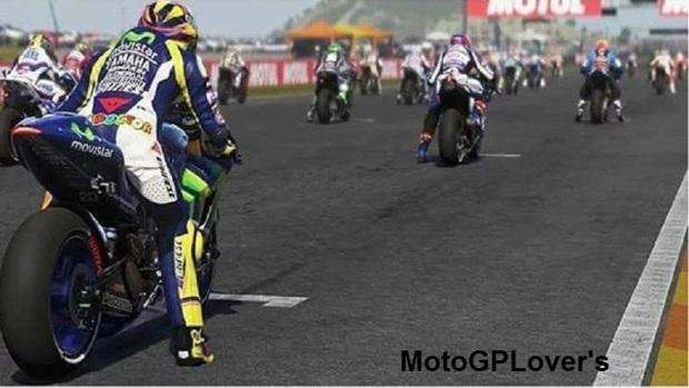 Rossi Start Belakang