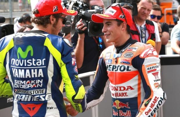 Valentino Rossi Marc Marquez