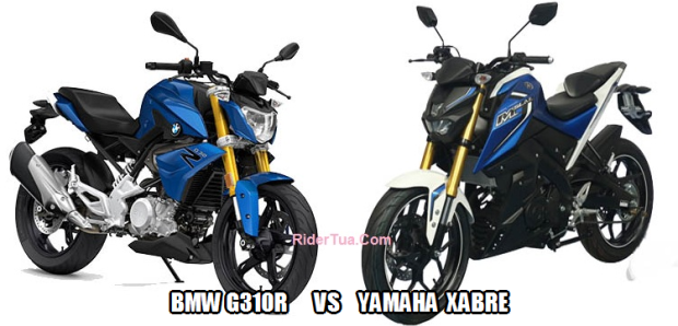 BMW G310R vs YAMAHA XABRE