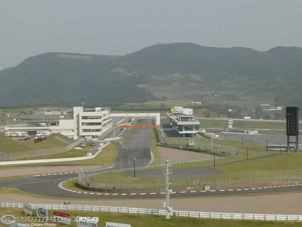Circuit Autopolis_Kawasaki sirkuit