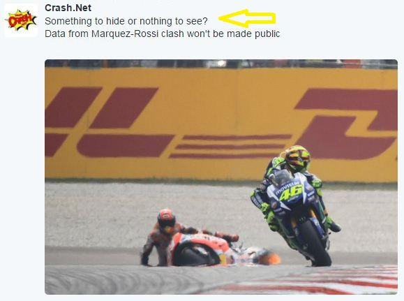 Crash Marquez Rossi