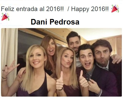 Dani Pedrosa tahun baru