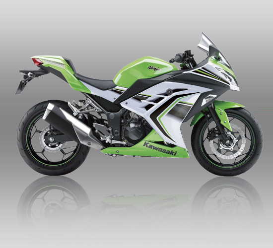 Kawasaki Ninja 250 ABS Special Edition Limited hijau- Lime Green