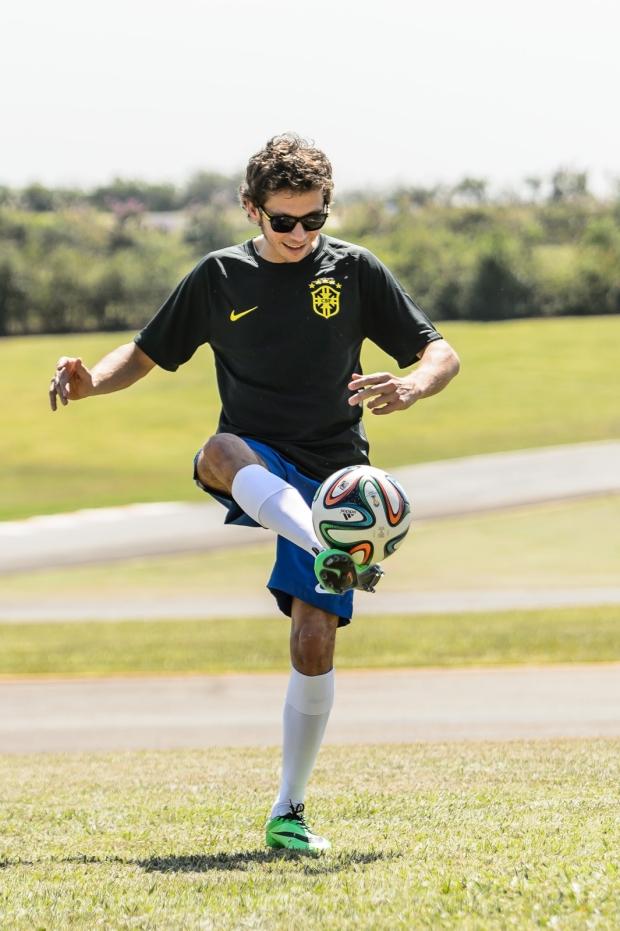 Valentino Rossi football soccer