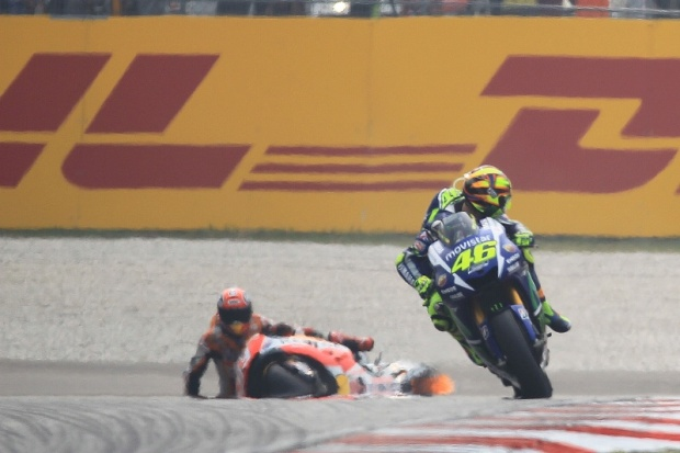 Valentino Rossi Marc Marquez Sepang