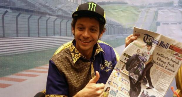 Valentino Rossi MotoGP Indonesia