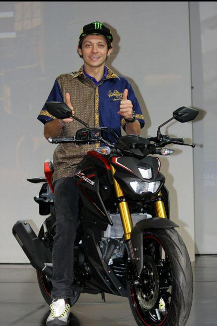 Valentino Rossi muda Xabre