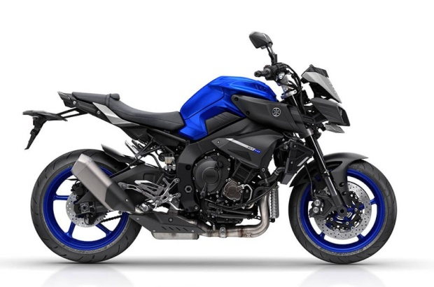 Yamaha MT-10 blue-side