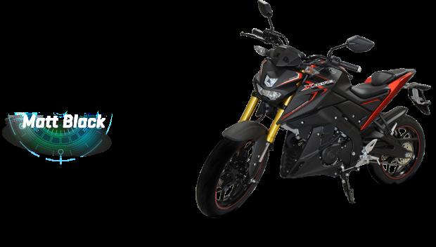 Yamaha Xabre matt-black