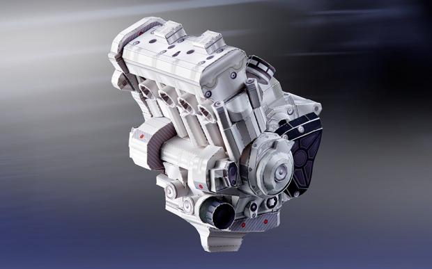 YZF R1 M engine