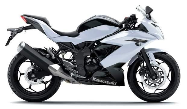 Kawasaki Ninja 250RR Mono White
