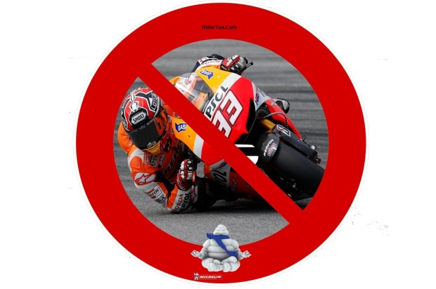 Marc Marquez Michelin no elbow down