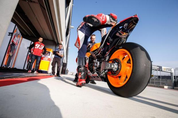 Marquez Michelin-MotoGP-tyre