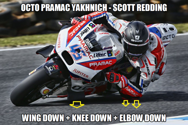Octo Pramac Racing Down