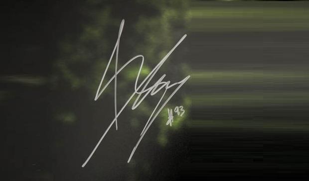 Marc marquez signature