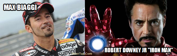 Robert Downey Jr Max Biaggi