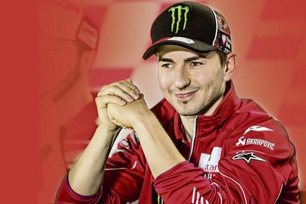 Jorge Lorenzo_Ducati red