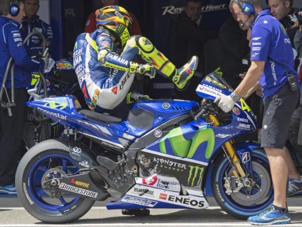 Valentino Rossi practice