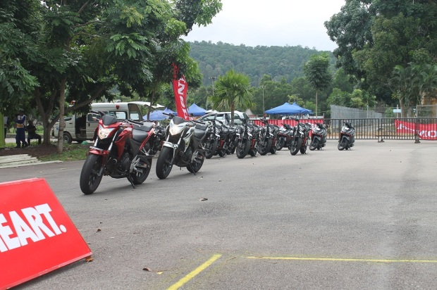 Astra Honda Safety Riding Instructors Competition 1