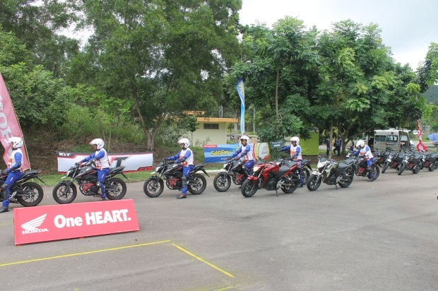 Astra Honda Safety Riding Instructors Competition 3